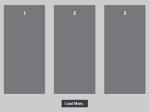 Just another jQuery plugin that allows you to dynamically load local or external data into current webpage when scrolling down or by clicking on the 'load more' button.