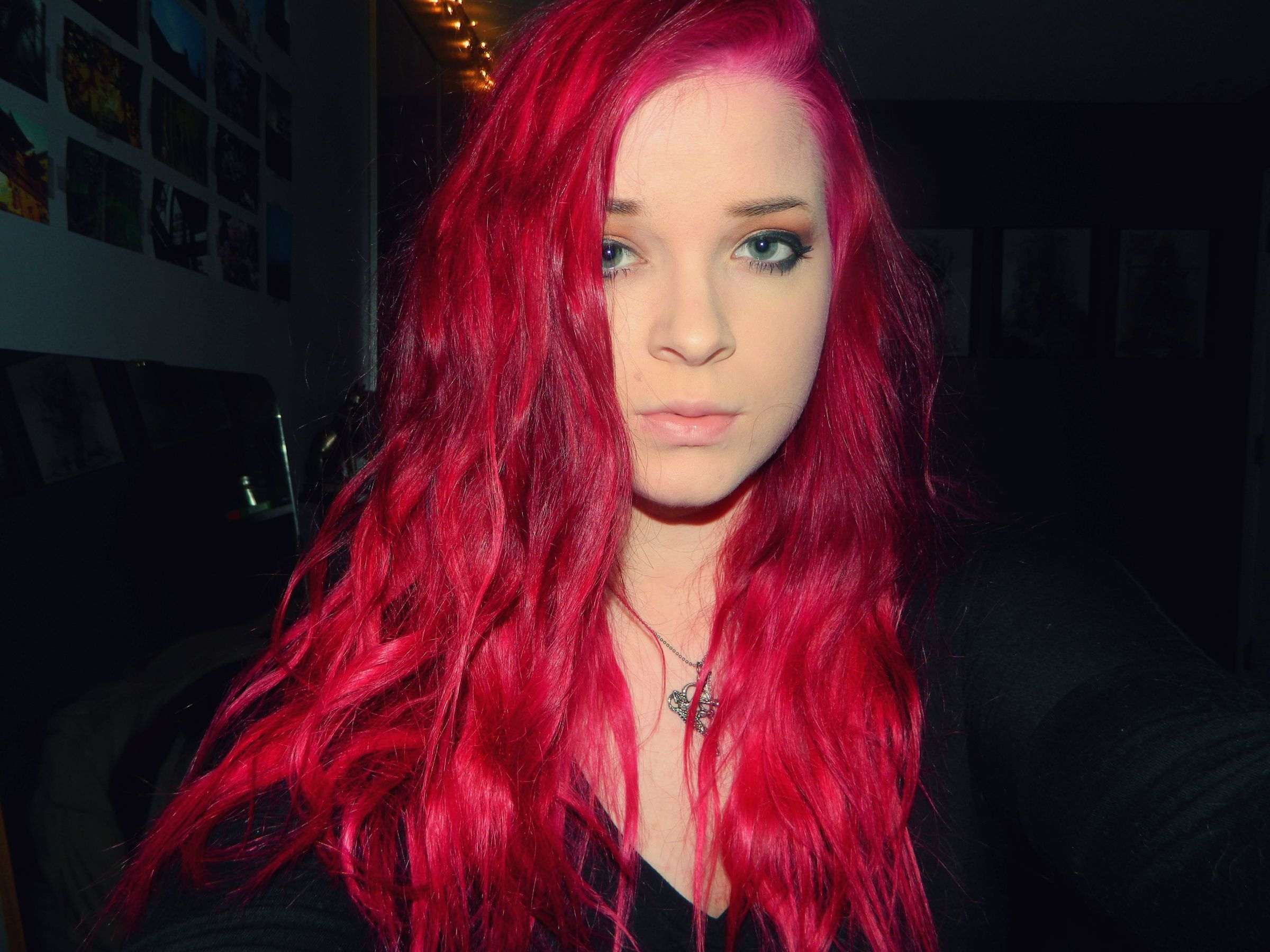 Punky Colour In Red Wine Hair And Makeup Pinterest Punky Color