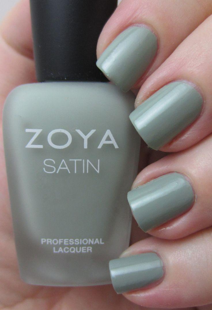 Zoya Sage - Naturel Satin Spring 2015 Collection Zoya Nail Polish in ...