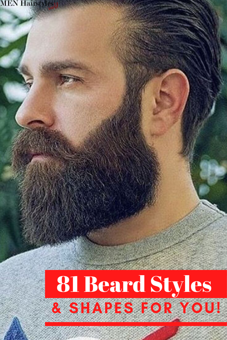 81 Beard Styles & Shapes for You!