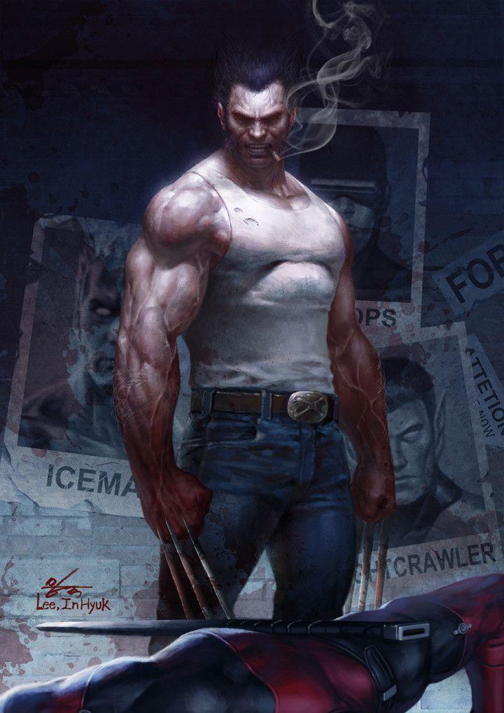 ArtStation - Wolverine win, InHyuk Lee