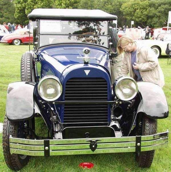 Imágenes antiguas convertibles a partir de 1913 a 1932