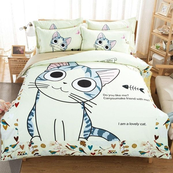 Looking For The Perfect Maxyoyo Home Textiles Cartoon 100 Cotton Lovely Cat Sheet Set With Duvet Cover Cute Kitty Beddi Bedding Sets Cat Bedroom Twin Bed Sets
