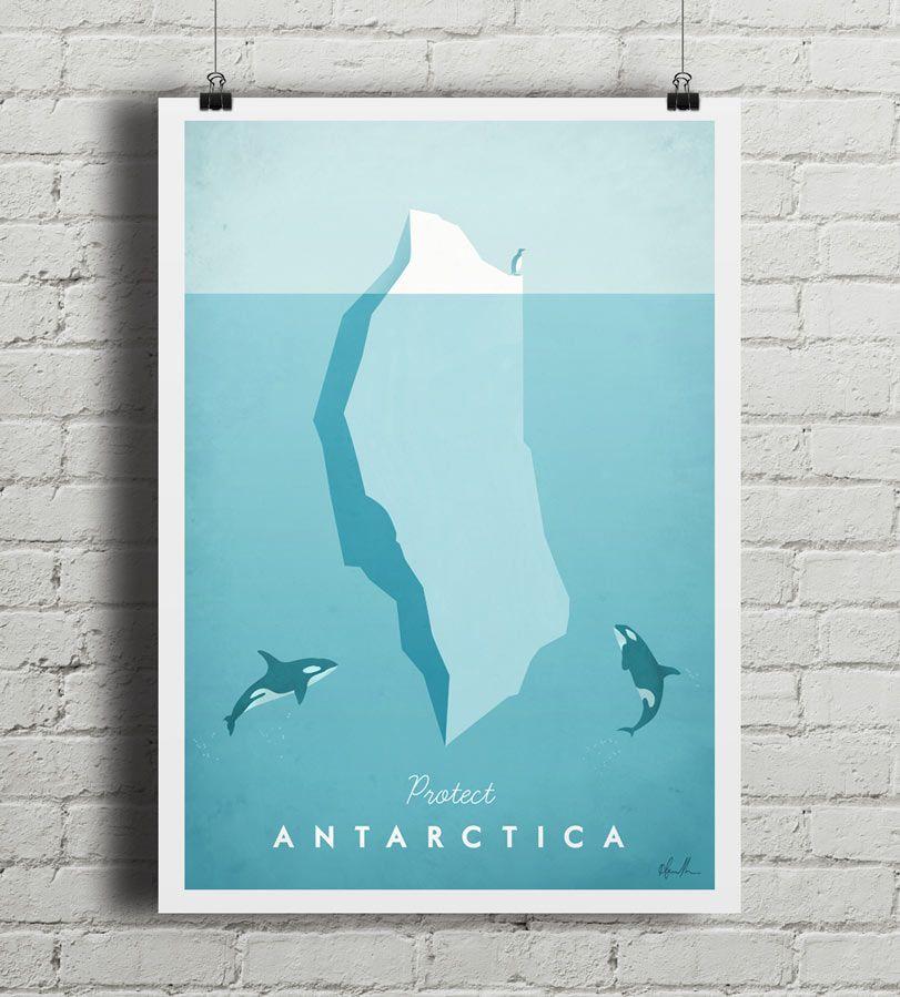 Antarctica - plakat