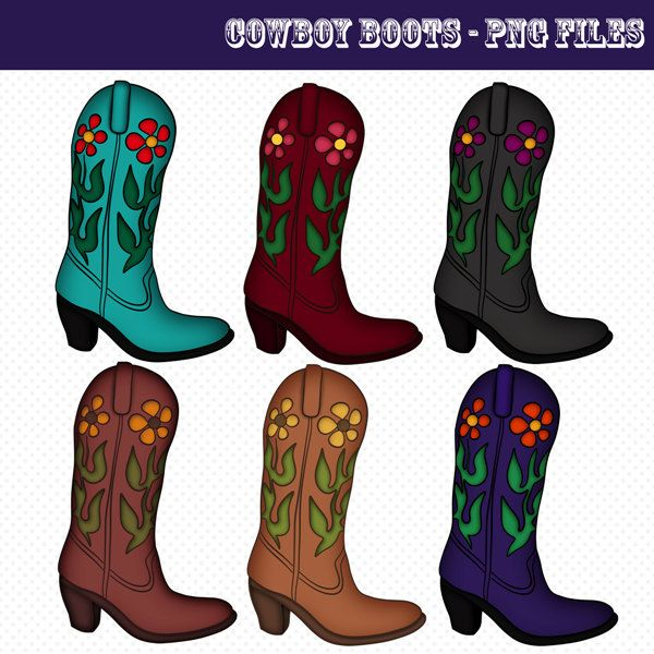 Boot Clips Cowboy Boots Western Boots