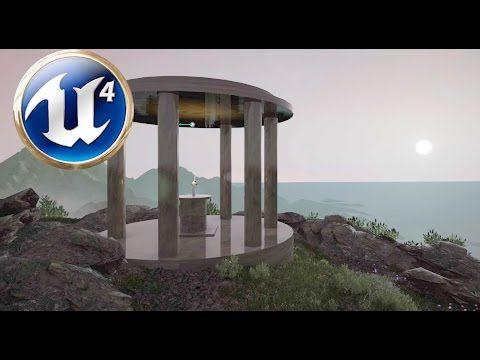 Unreal Engine 4 Quick Level/Map Design (Temple Scene) - YouTube