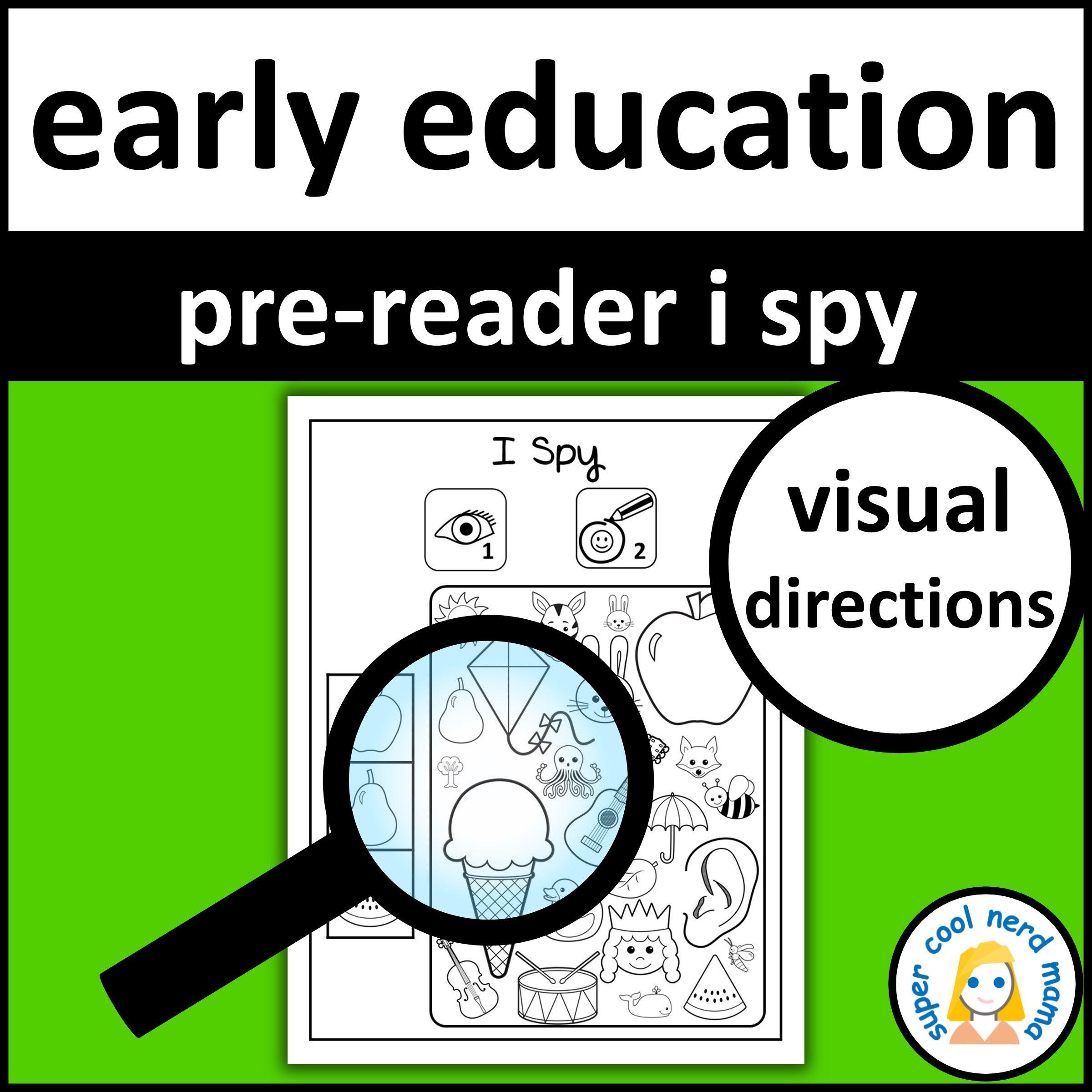 Pre Reader I Spy