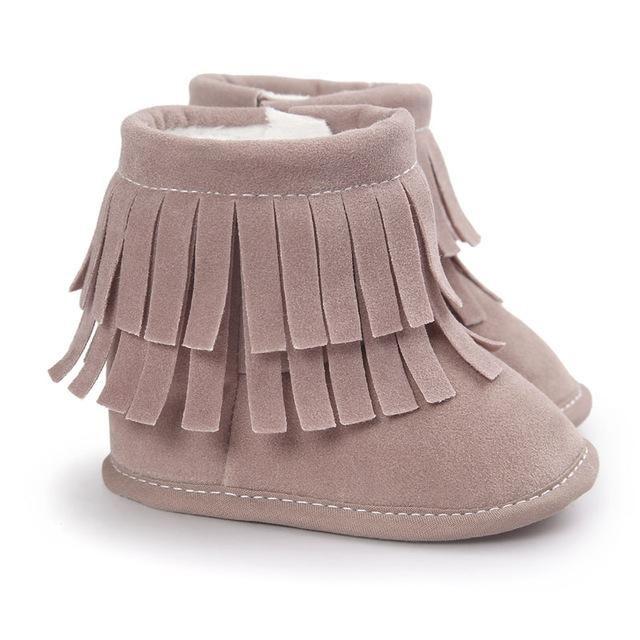6c212c181aea6 Bottes bébé P TITE INDIENNE - taupe   chaussures bebe   Pinterest ...