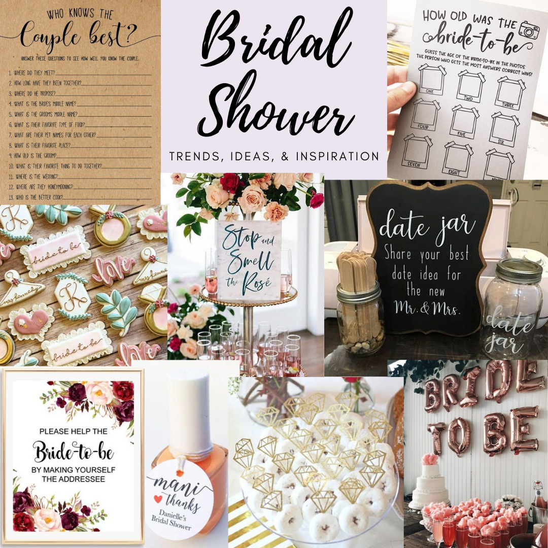 Bridal shower ideas and inspiration in 2020 Wedding