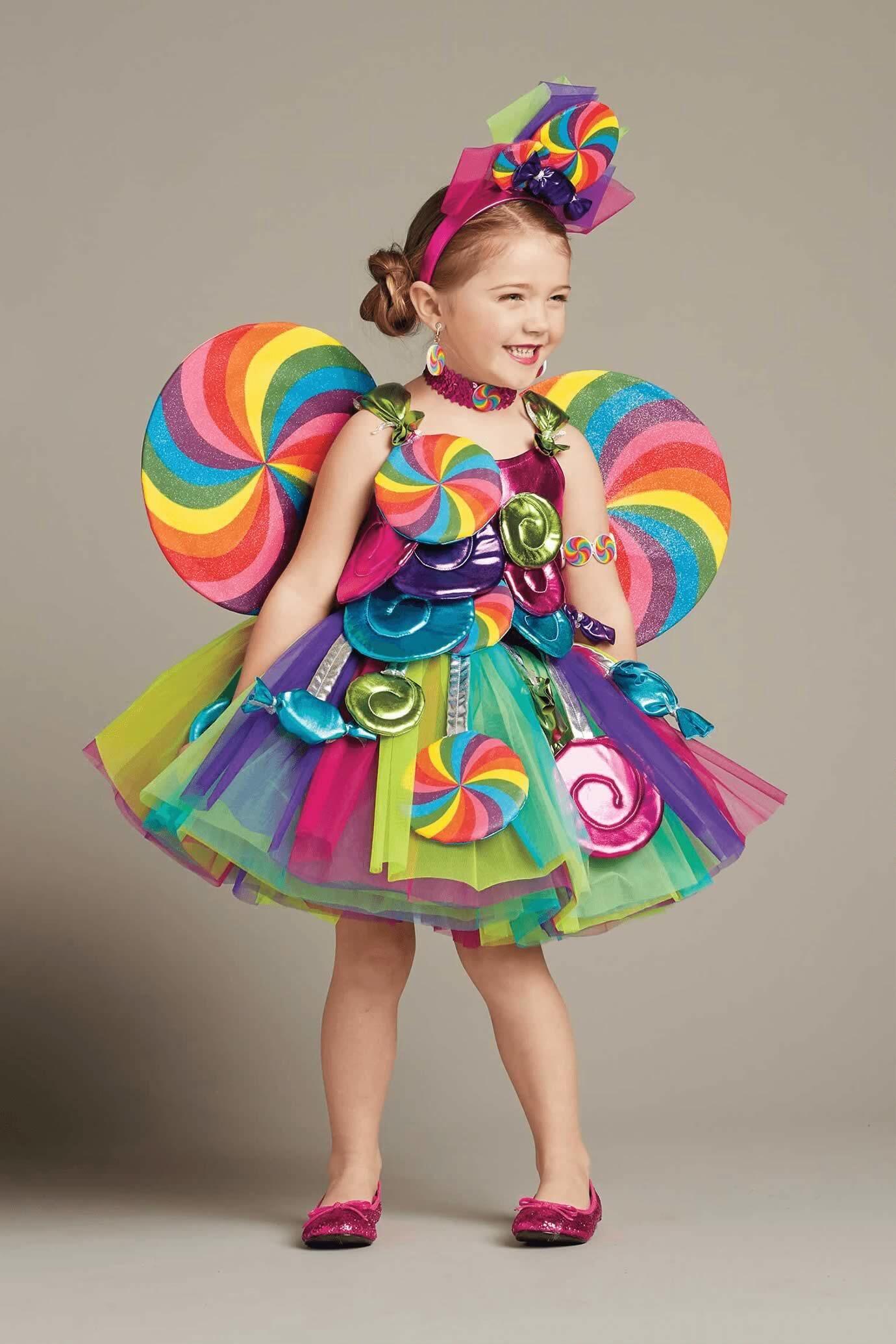Candy Fairy Costume for Girls Little girl halloween