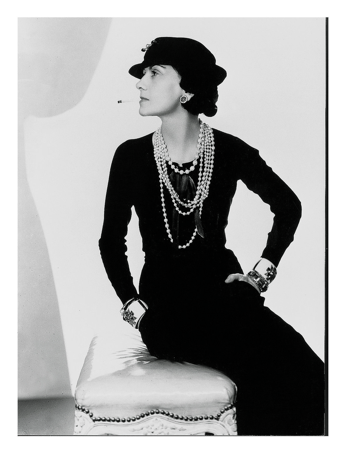 bf4639a95d699b It Girl Then: French fashion designer and founder of the Chanel brand,  Gabrielle
