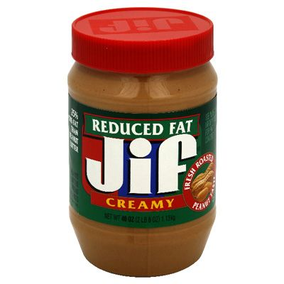 My kind of Peanut Butter!!  ... Jif Reduced Fat Creamy Peanut Butter