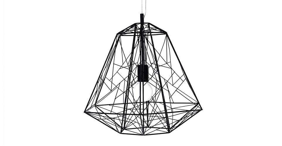 Hive hanglamp, in zwart | Ceiling lights, Light fittings ...