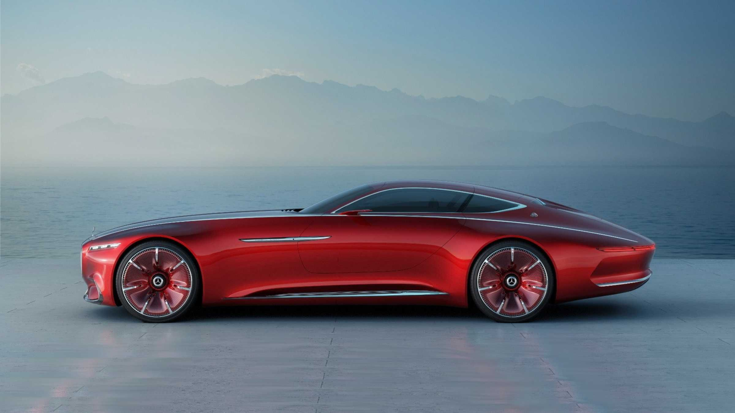 The Vision Mercedes Maybach 6 Concept Is Revealed Ahead Of Pebble