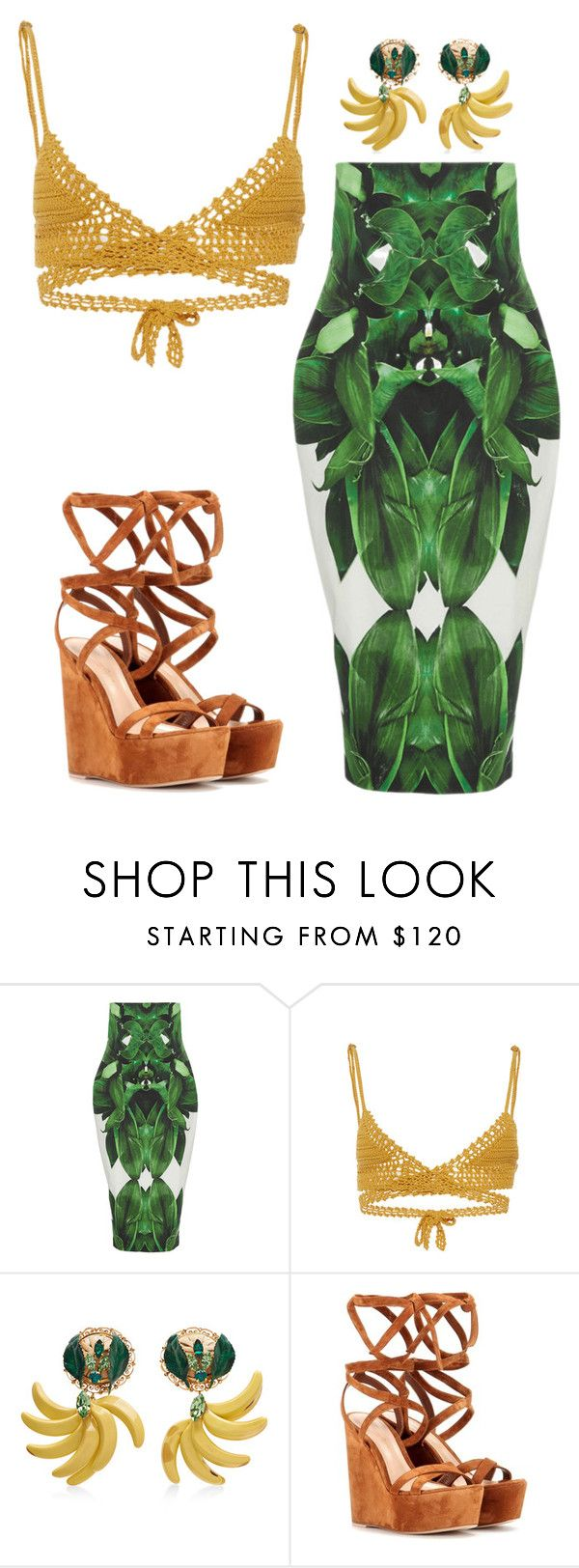 """""""Untitled #5193"""" by stylistbyair ❤ liked on Polyvore featuring SHE MADE ME, Dolce&Gabbana and Gianvito Rossi"""