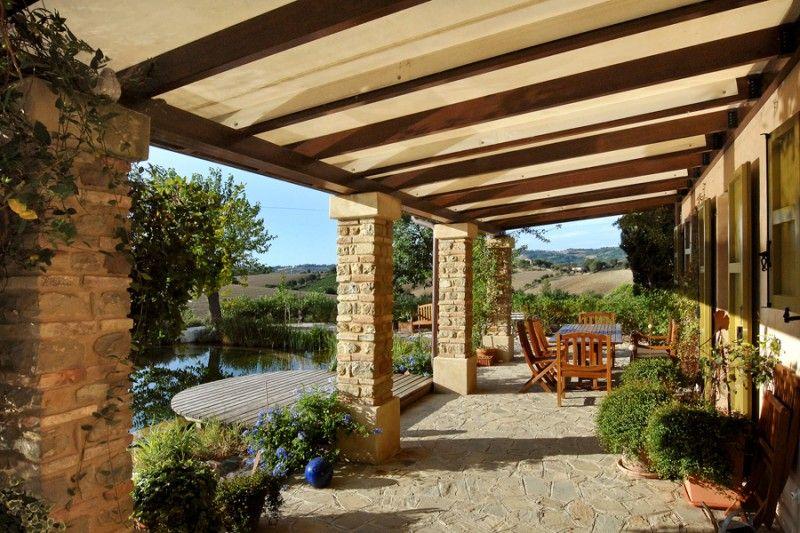 Pergole in legno Arredamento veranda cortile, Pergola