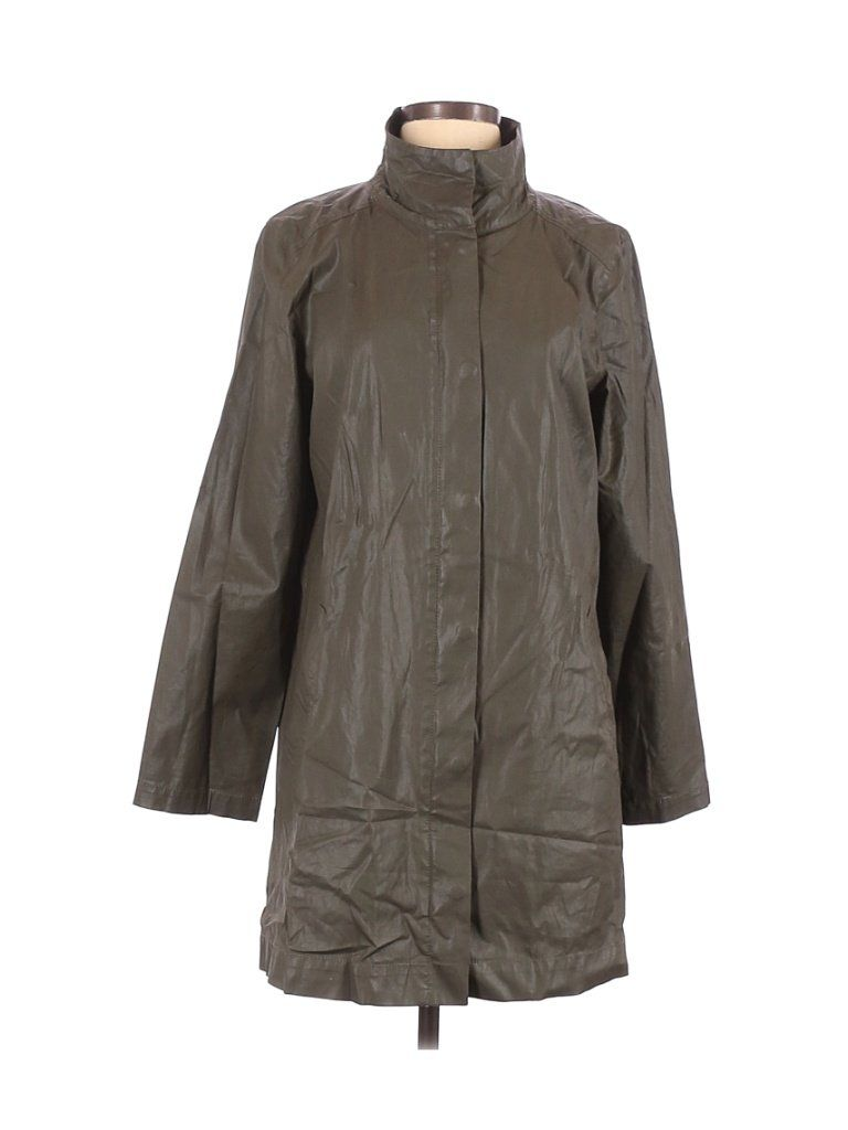 Eileen Fisher Jacket Green Solid Jackets Outerwear Size Small In 2021 Eileen Fisher Jacket Eileen Fisher Outerwear Jackets [ 1024 x 768 Pixel ]