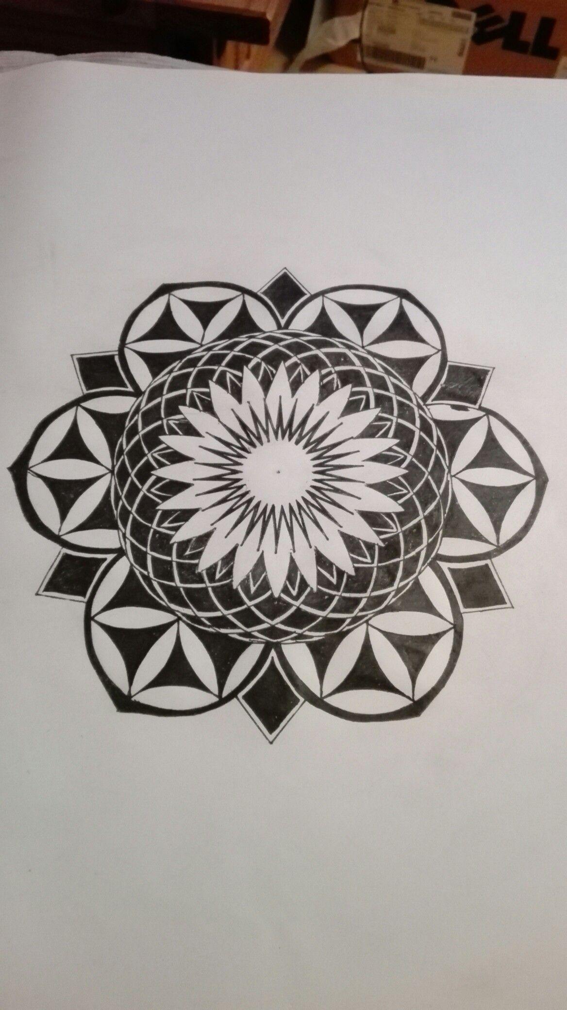 Mandala Tattoo Design Ancient Geometry Spiritual Mandala Tattoo Design Mandala Tattoo Tattoo Designs