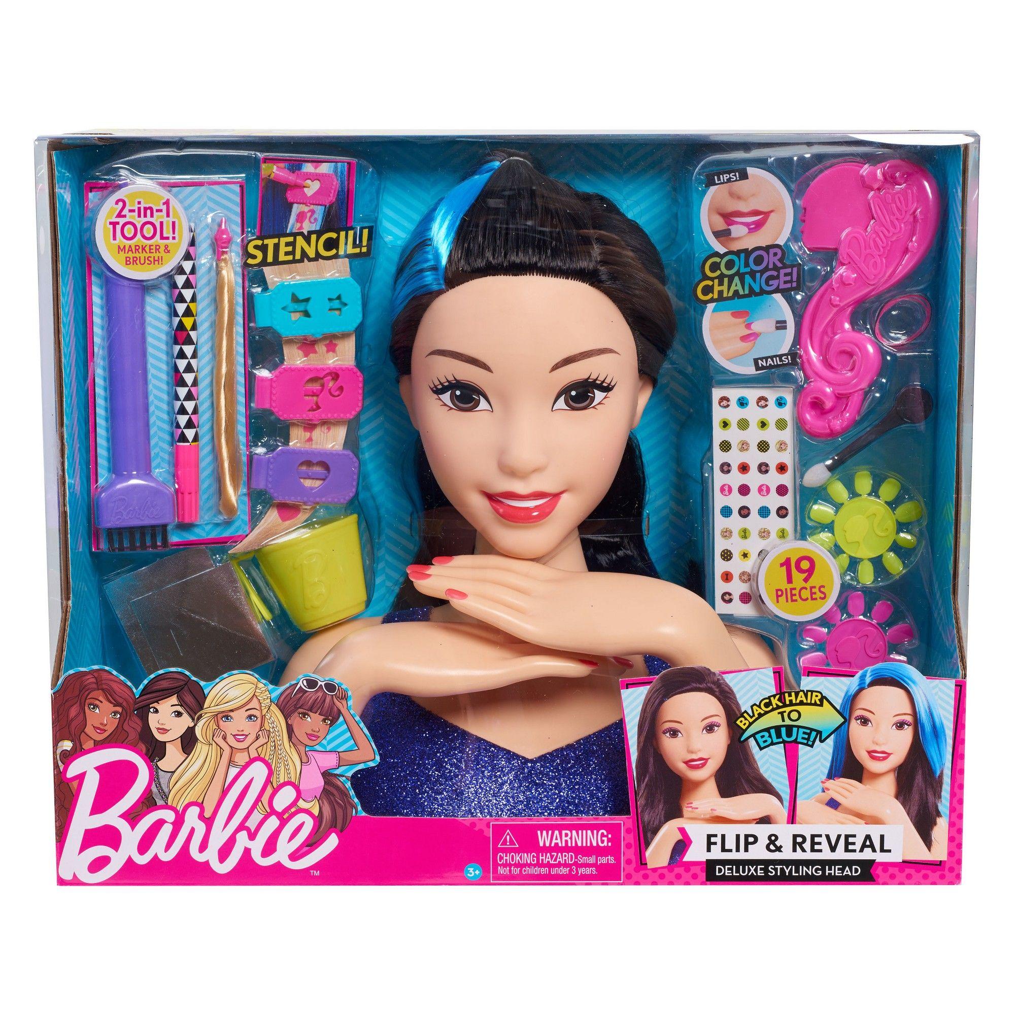 NEW Disney Princess Rapunzel Deluxe Colour Change Styling Head