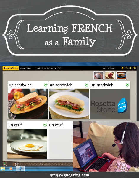 Learn French as a Family with Rosetta Stone | Posts from