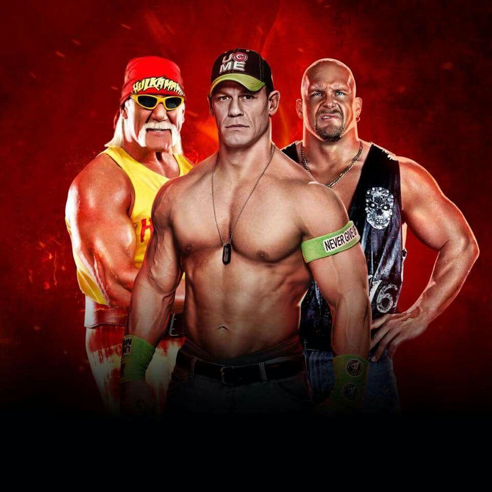 Hulk Hogan John Cena & Stone Cold Steve Austin | WWE ...
