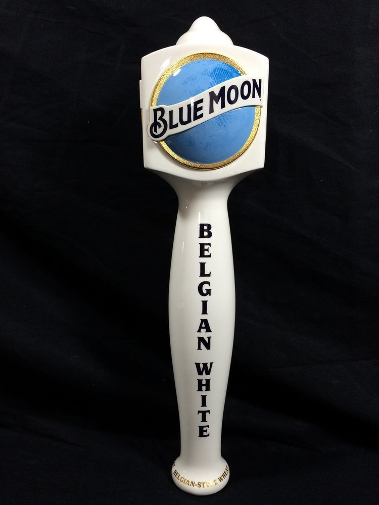 Blue Moon Beer Tap Handle Belgian White New Bar Pub Man