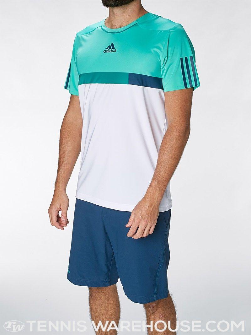 Adidas Menu0026#39;s Spring Barricade Tennis Crew   Menu0026#39;s Tennis Wear   Fashion   Pinterest   Tennis And ...