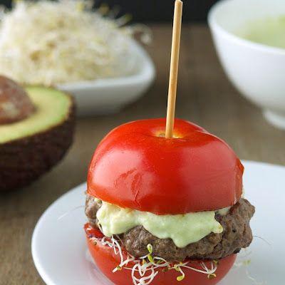 4 5 5 Recipe Food Food Recipes Avocado Burger
