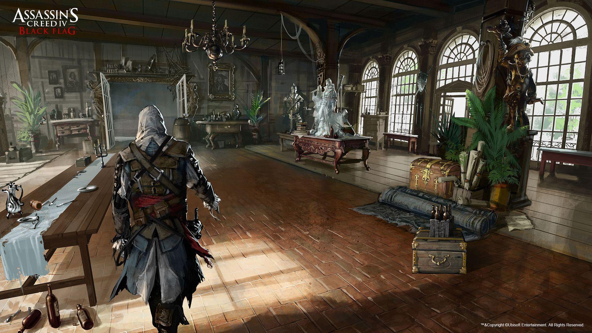 Artstation Assassin S Creed Black Flag Grant Hillier With