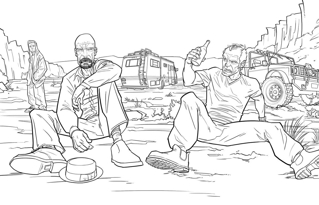 Gta V Trevor Moment Gta 5 Coloring Pages Gta