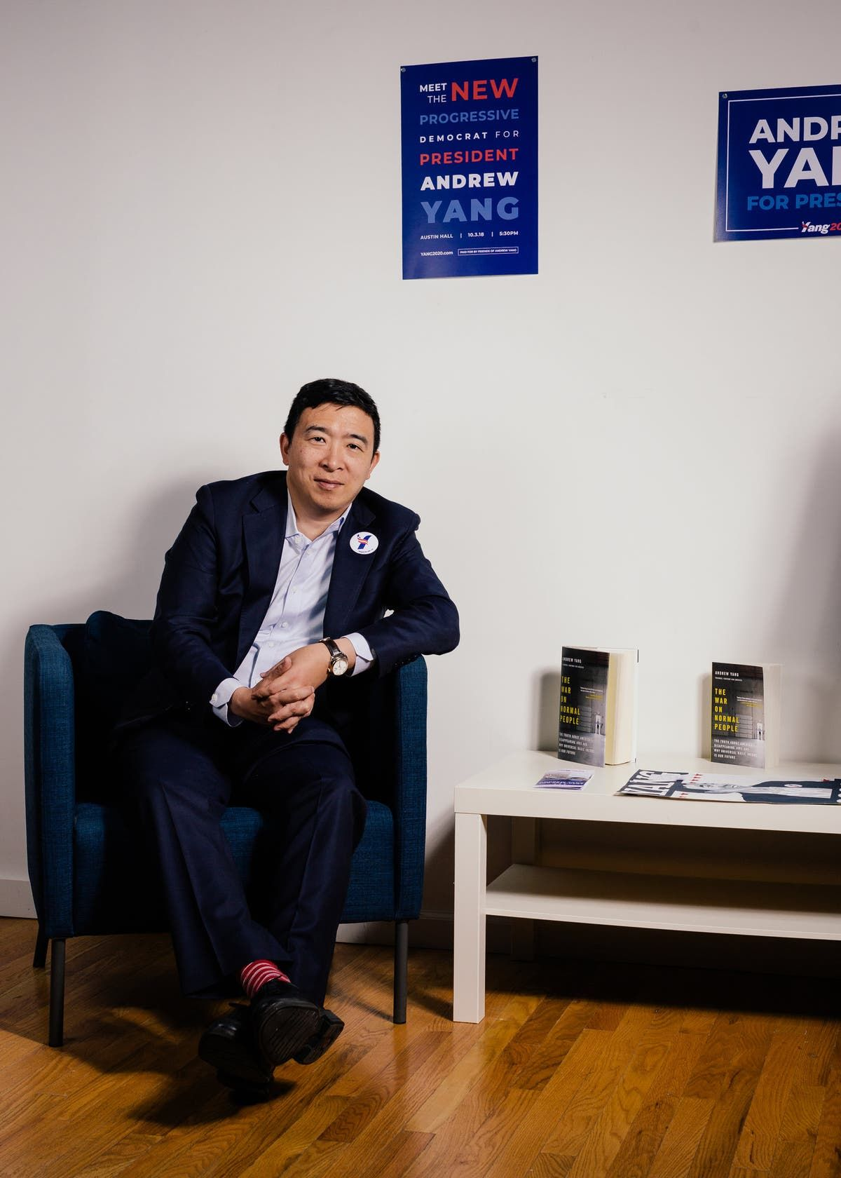 What It Was Like to Work for Andrew Yang in 2020 Good