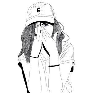 Girl Draw We Heart It