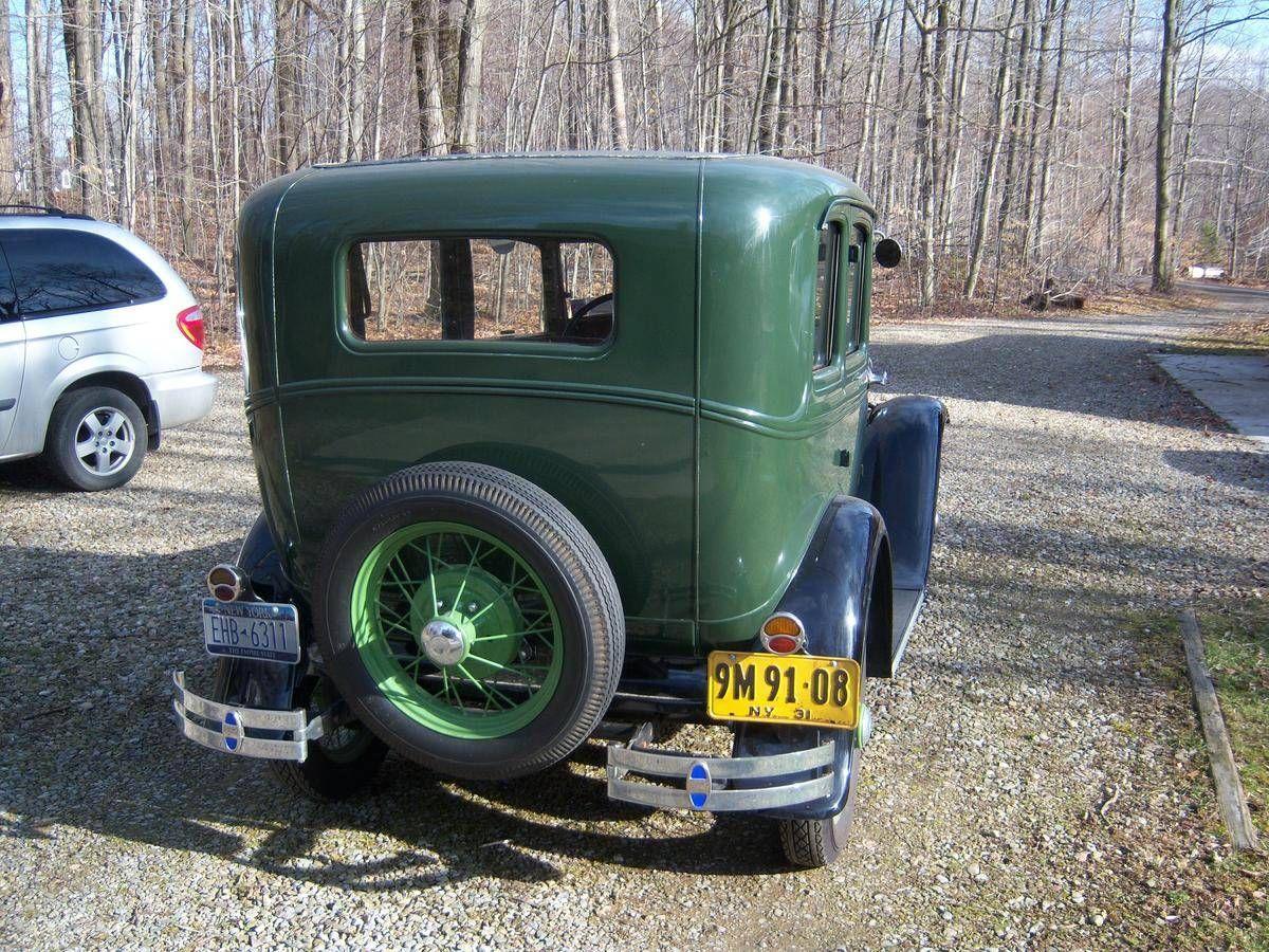 1931 Ford Model A Slant Window 4 Door For Sale 1817550 Ford Models Ford Model