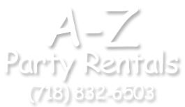 Logo A To Z Party Rental Table Rentals Party Rentals Tent