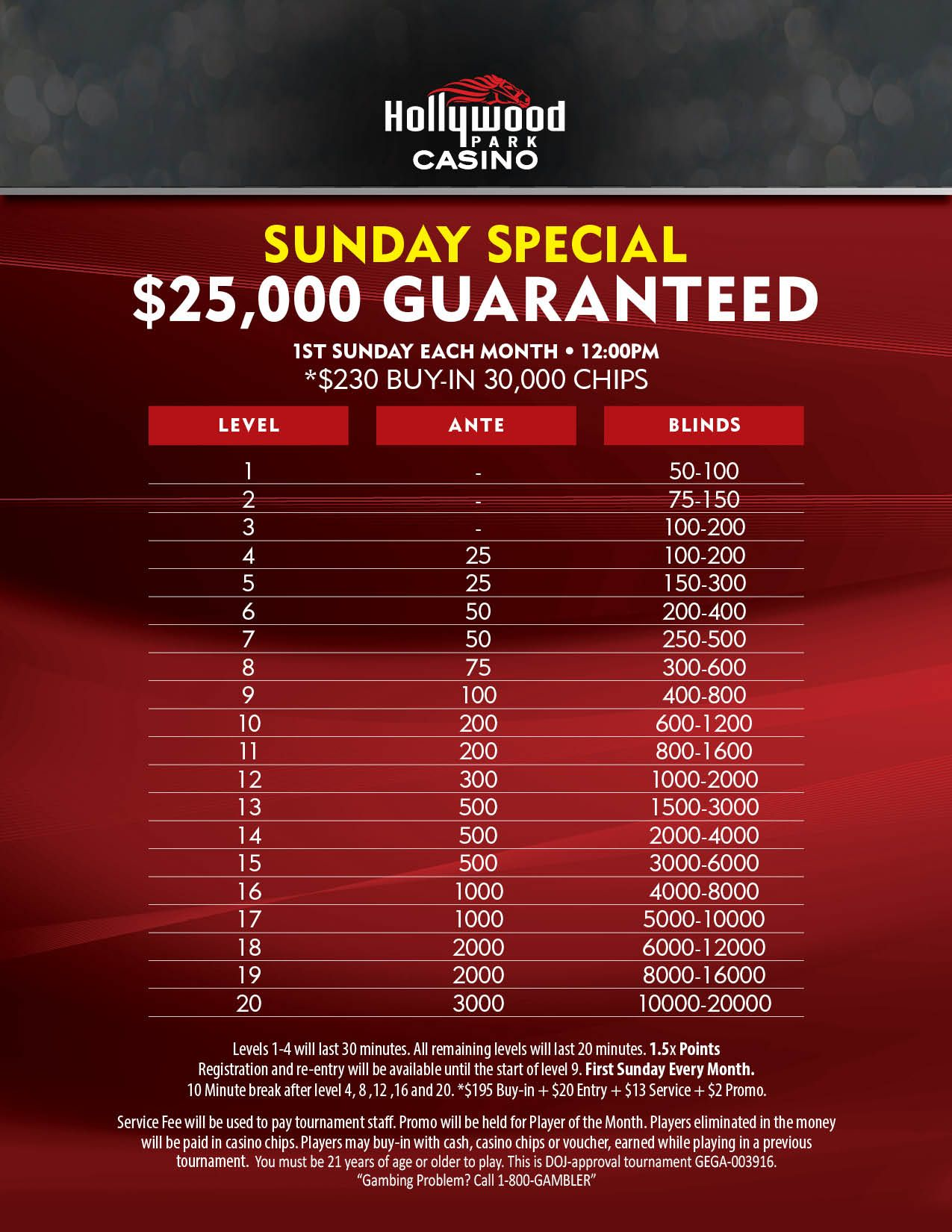 Hollywood park casino tournament results bloodhound software casino