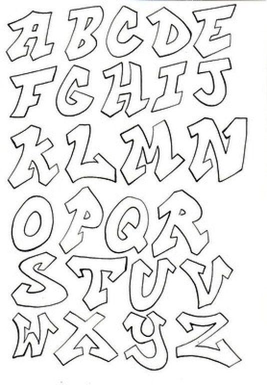 Moldes de letras para carteles - Imagui   dibujos varios   Pinterest ...