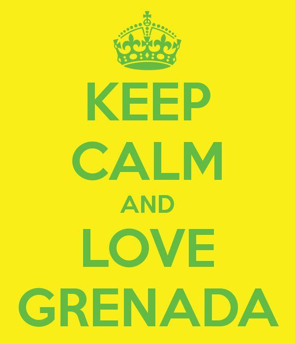 keep Calm and Love Grenada ~ #spiceisland #Grenada
