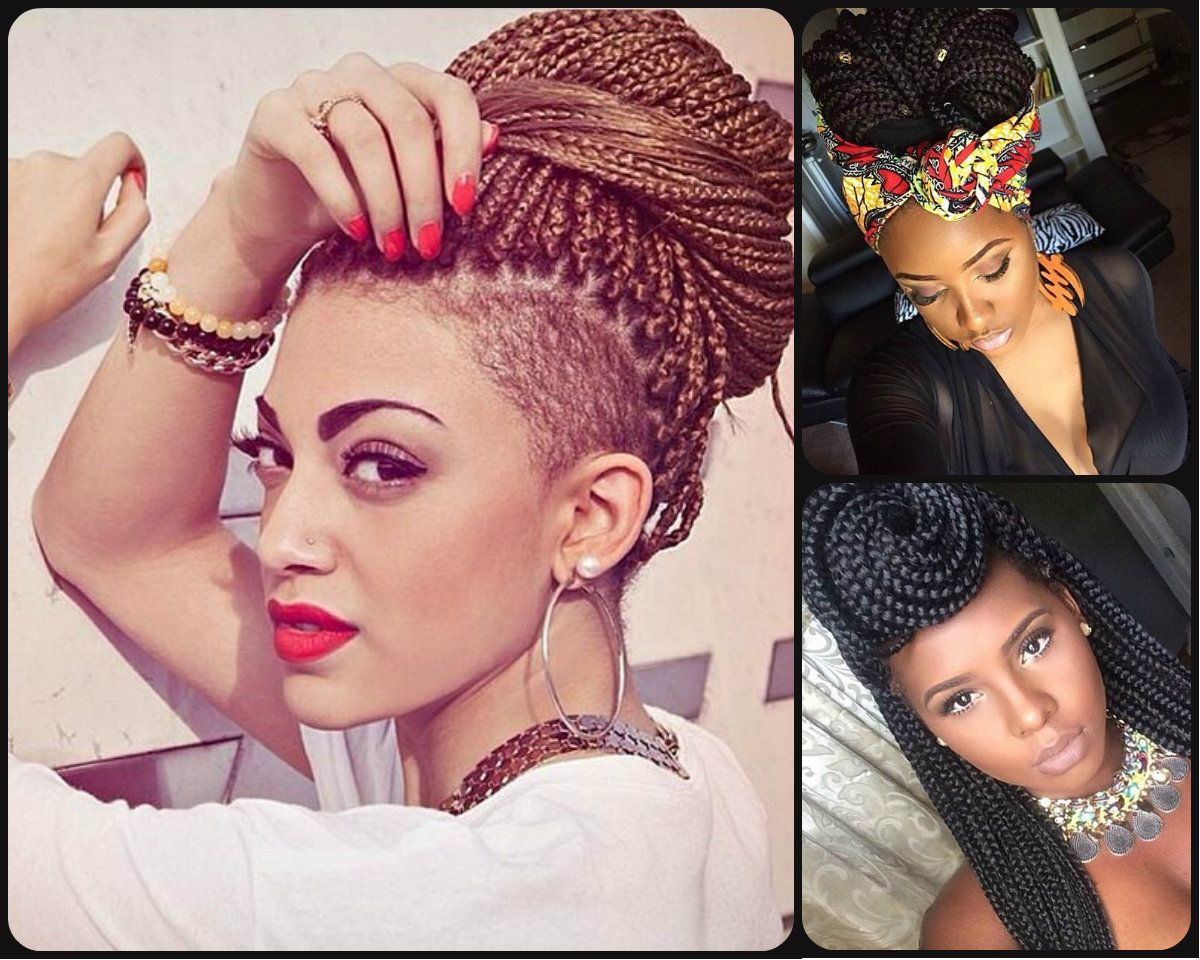 Top Trendy Box Braids Hairstyles 2015 Box Braids Hairstyles Braided Hairstyles Single Braids Hairstyles