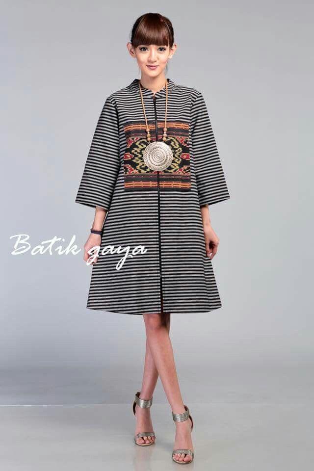 Model Baju Batik Putri Duyung Pinterest Batik Dress Model
