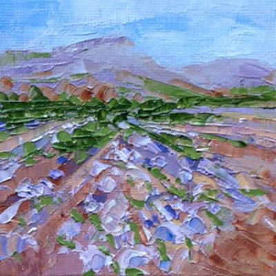 """""""Landscape Five"""". Sold to an art lover."""