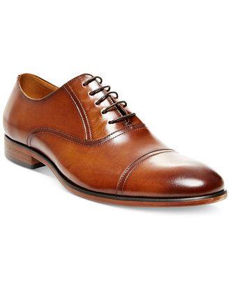 4e6eb373a45 Steve Madden Men's Herbert Cap Toe Oxfords - Dress Shoes - Men ...