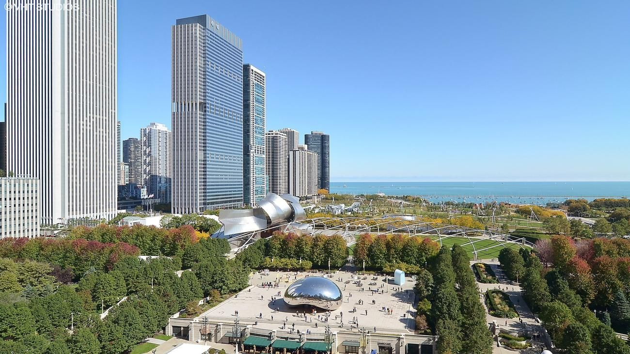 Chicago Home Overlooking Millennium Park: $2.25M
