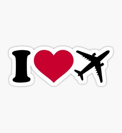 Airplane Stickers Cute Stickers Aesthetic Stickers Travel Stickers