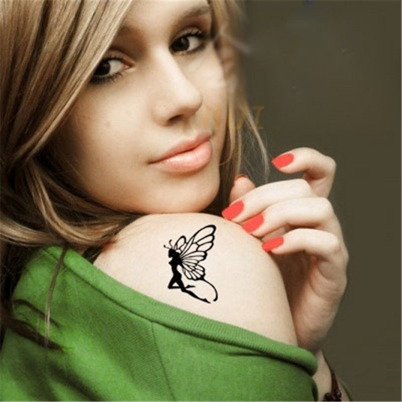 Black Henna Tattoo Uk: 2017 New Style Tatoo Henna Fake Tattoo Flash Tatto