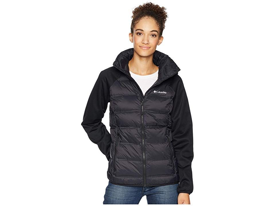 Columbia Explorer Fallstm Hybrid Jacket (Black) Women's Coat