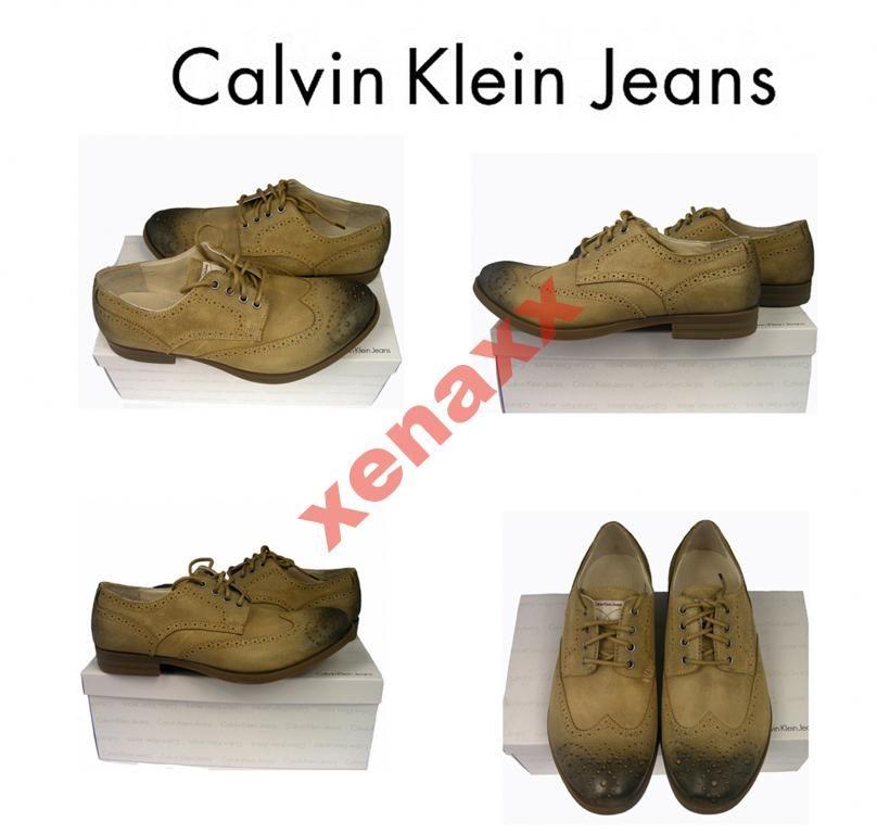 Calvin Klein Typ Brogues Oxford 100 Skora R 45 3969465850 Oficjalne Archiwum Allegro Calvin Klein Calvin Brogues