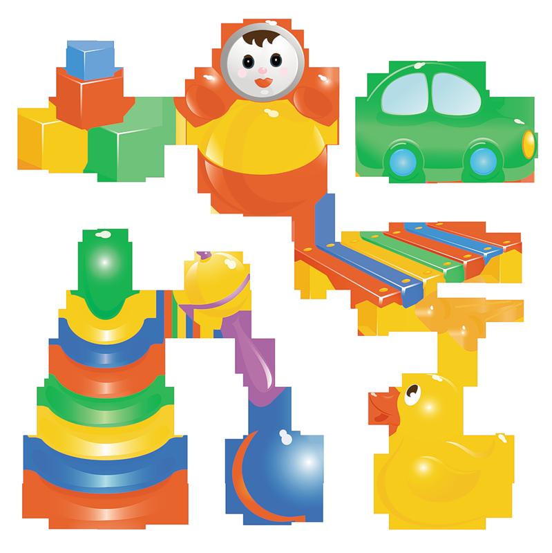 Рисунок детские игрушки