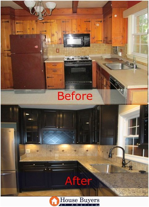 From Dated To Modern A Complete Transformation For This Kitchen