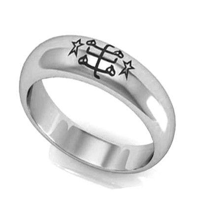 Bahai Wedding Bands Bahai Faith Symbol Bahai Ringstone Jewelry