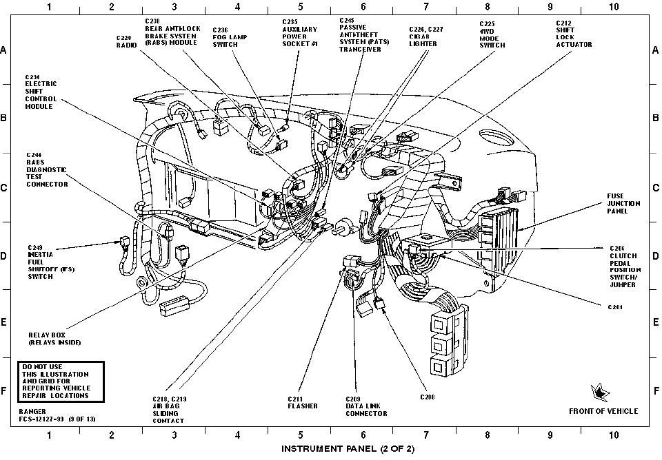 wiring diagram for ford transmission